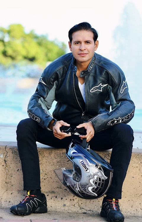 Julian Melendez motorcycle
