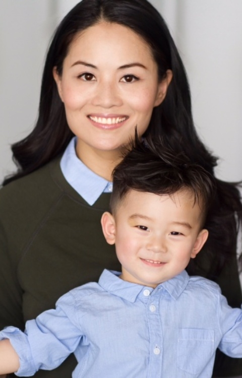 Kiki Yeung and son