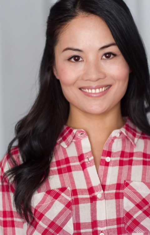 Kiki Yeung – red plaid shirt