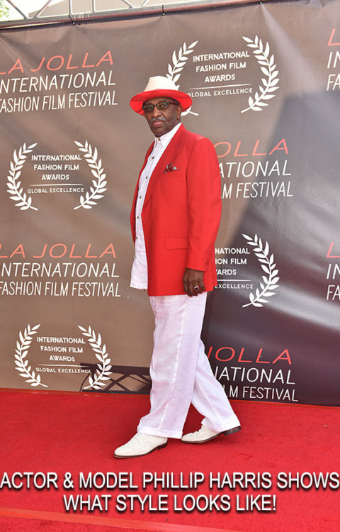 Phillip Harris on Red Carpet